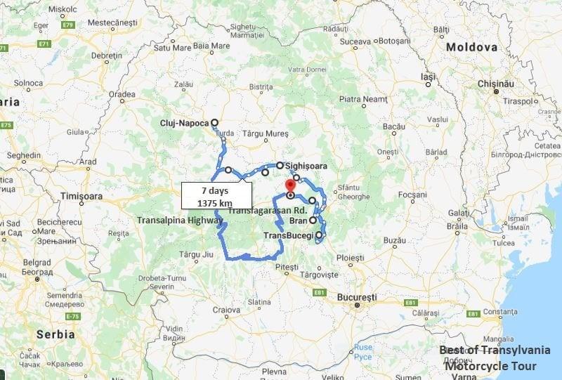 Nest of Transylvania Map